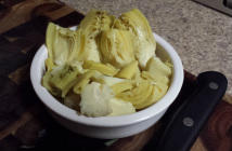 Chopped Canned Artichoke Hearts Plain