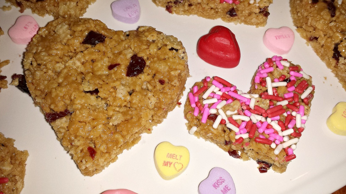 Valentines Day Cereal Treats